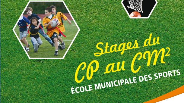 stages sports vacances paques 2018 slide